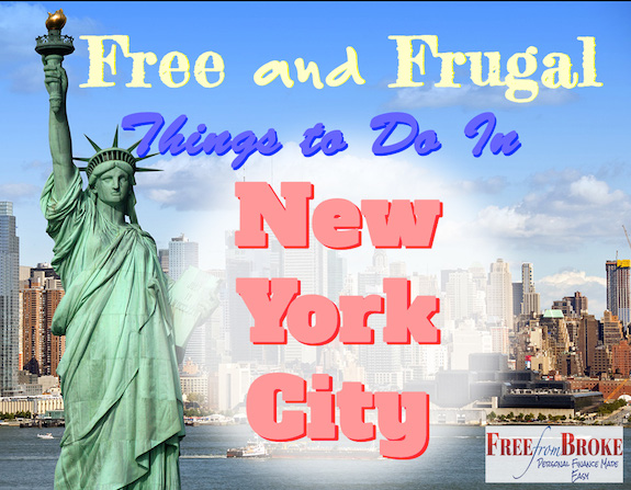 Free cheap or low cost in new york city for New york special things to do