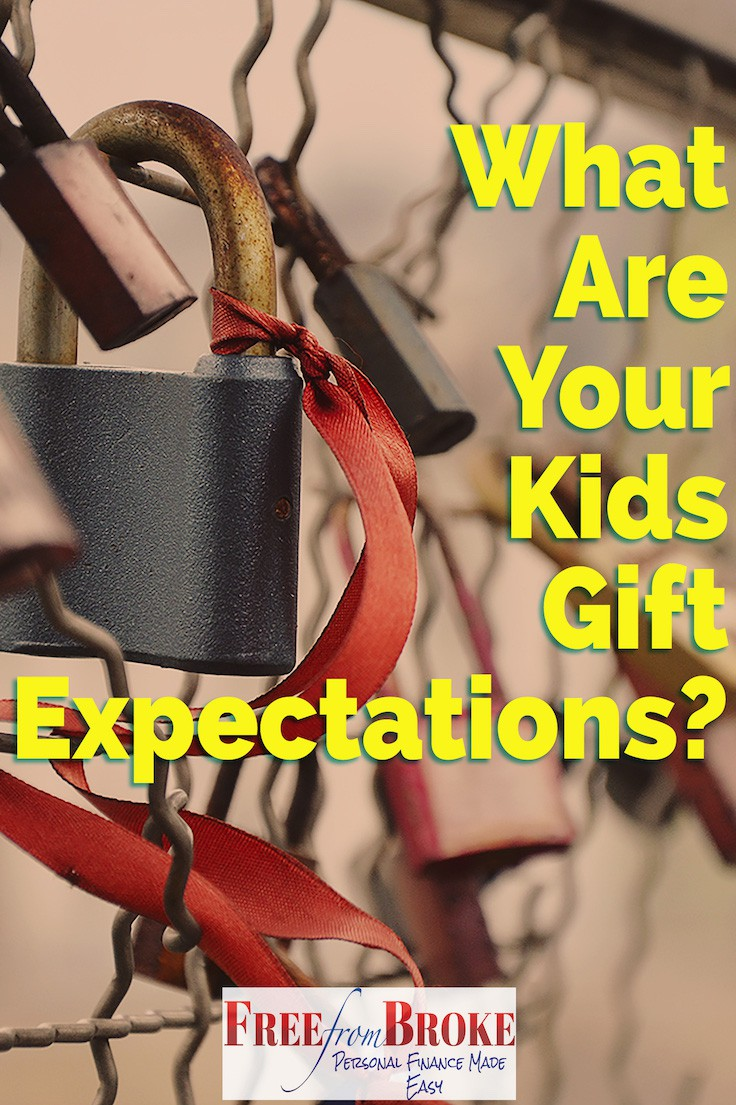 What are your kids' gift expectations?