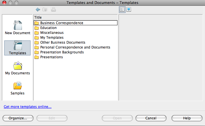 openoffice-templates-docs
