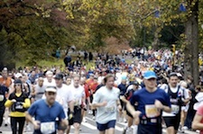 personal finance and the NYC marathon