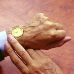 Gold watch at retirement