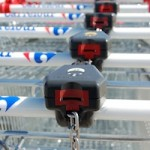 Locked Shopping Carts