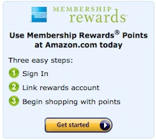 Membership Rewards Amazon