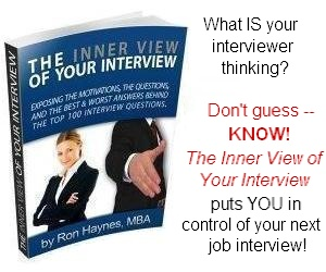 The Inner View of Your Interview