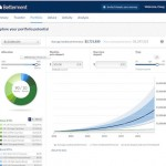 Betterment portfolio screen
