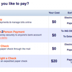 ING Electric Orange Payment Options