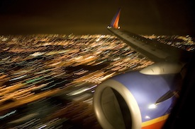 Southwest Airlines Plane Landing