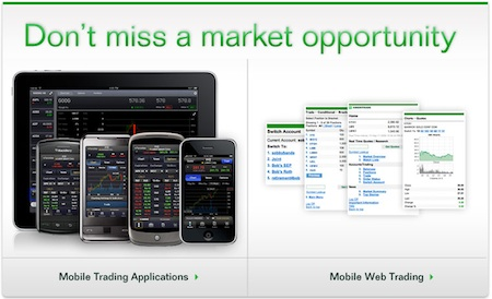 TD Ameritrade Mobile Stock Trading