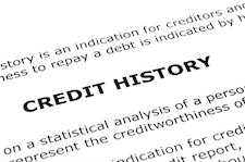 fix eror on credit report