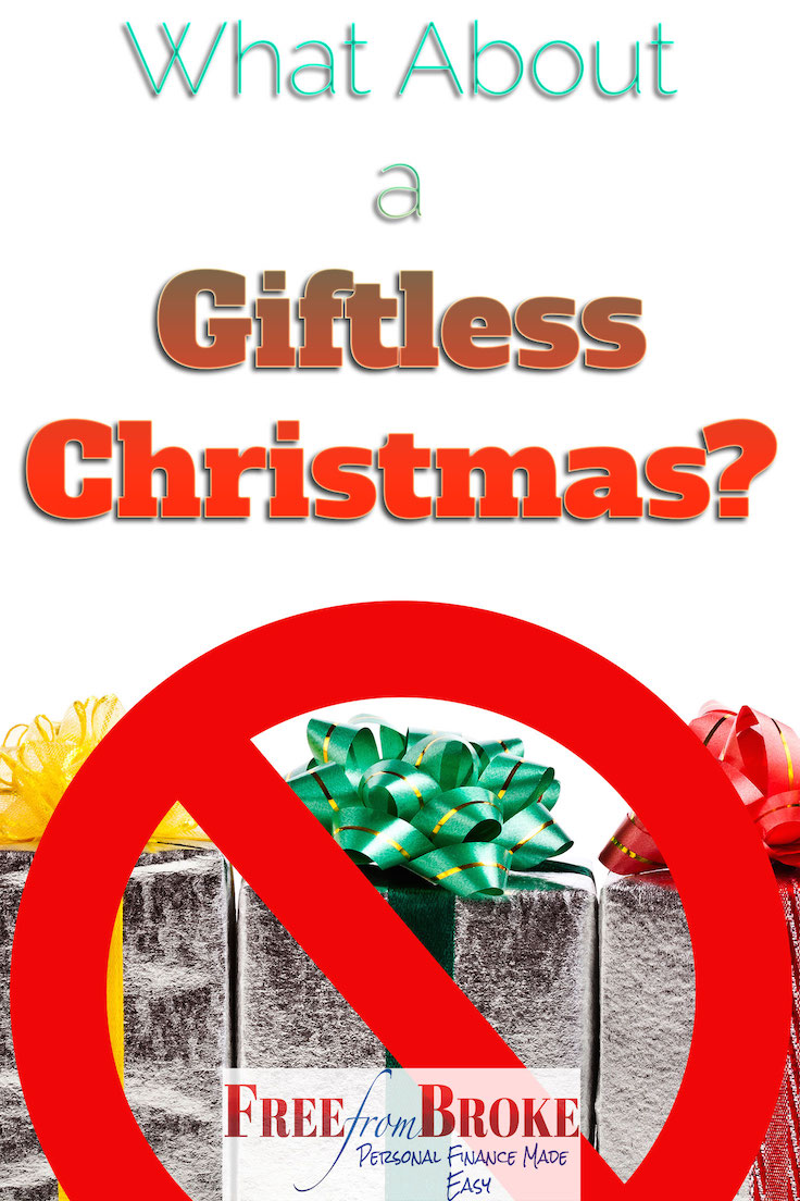 What about a giftless Christmas?