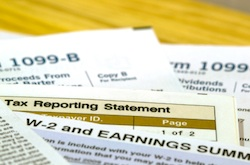 reporting income for taxes
