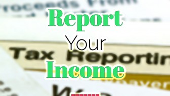 Income tax forms that report your income.