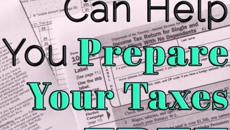 VITA can help you prepare your taxes for free.
