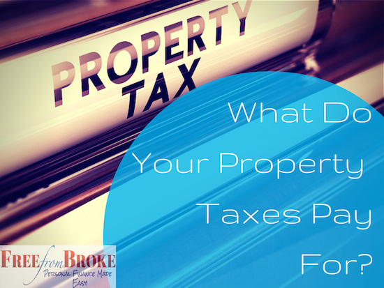 What do property taxes pay for?