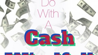 What should you do with a cash windfall?