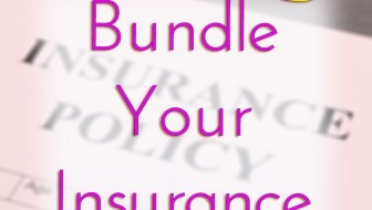 Save money by bundling your insurance policies.