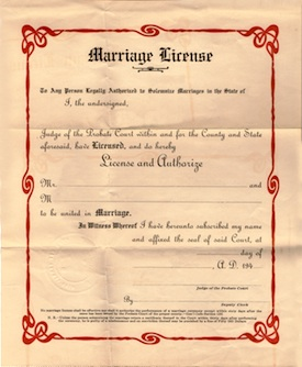 marriage business arrangement