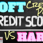 Soft credit pull vs hard credit pull