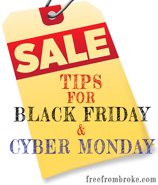 shopping tips for Black Friday and Cyber Monday