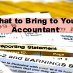 Tax Time: What to Bring to Your Accountant