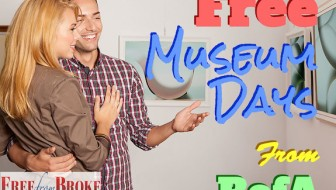 Free museum days from Bank of America