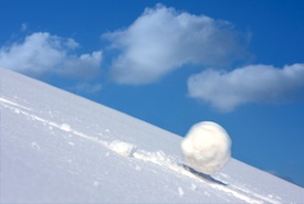 the YOLO mentality can cause a snowball if debt