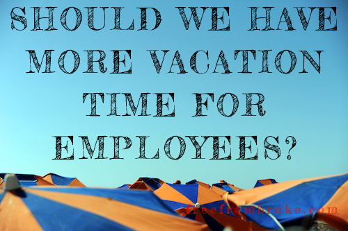 vacation time for employees