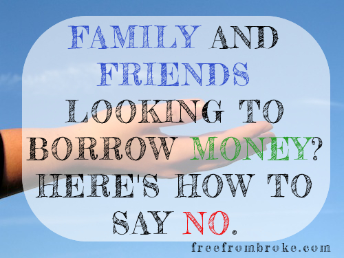 How To Loan Money To Family