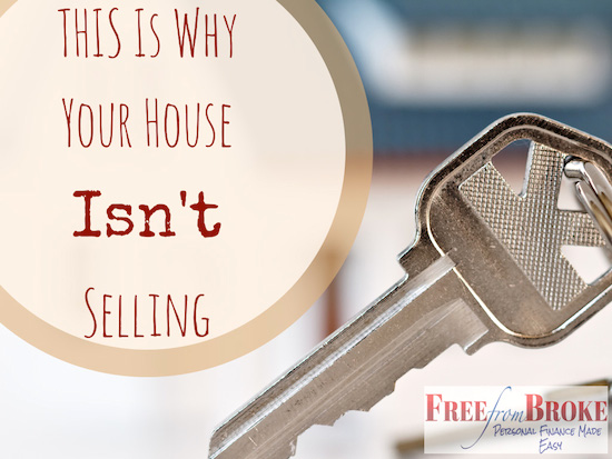 This is why your house isn't selling.