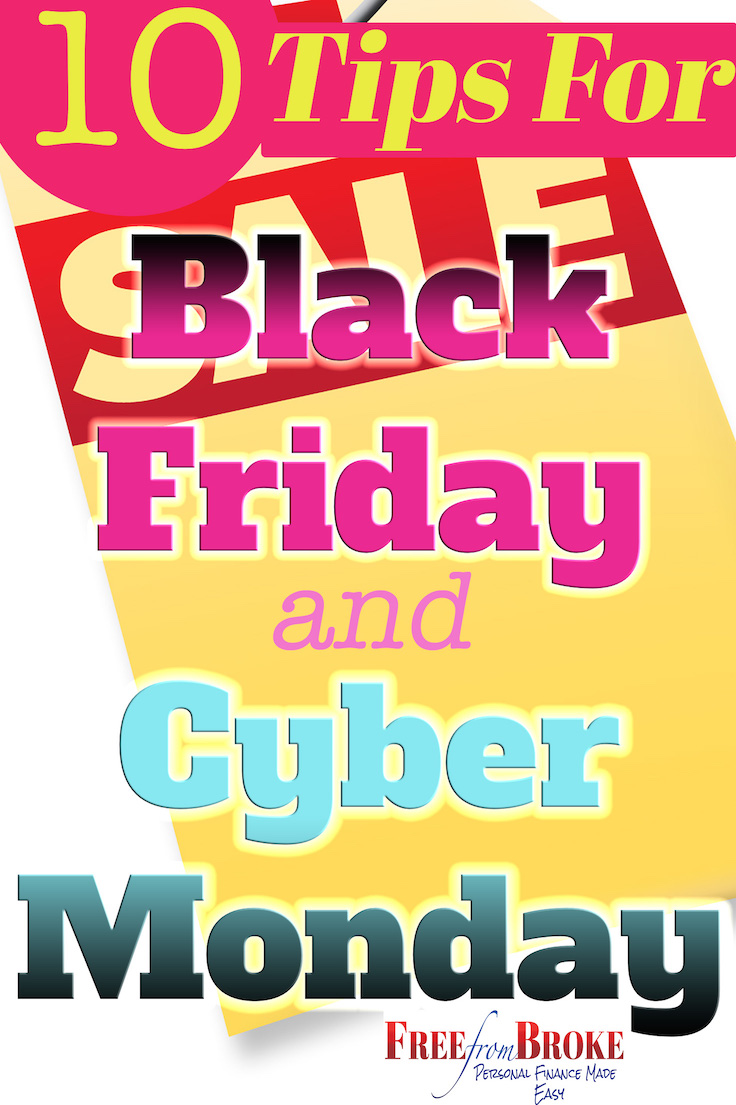 10 Essential Tips For Shopping Black Friday And Cyber Monday – Don