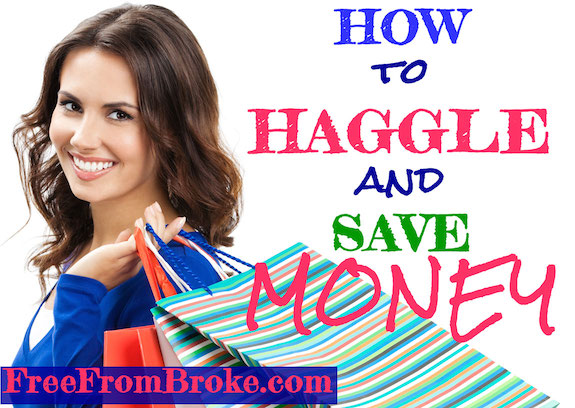 How to haggle and ask for discounts.