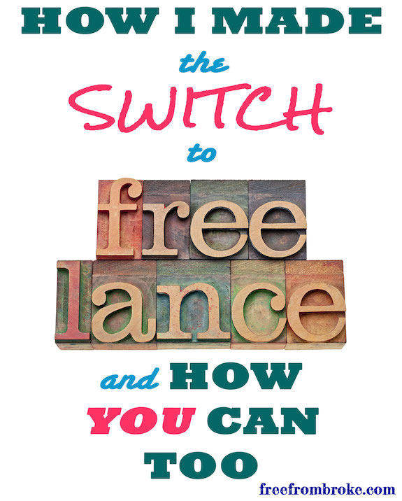 How I made the switch to freelancing.