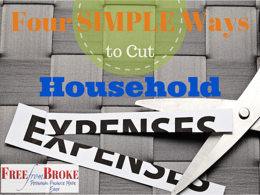 Simple ways to reduce household expenses