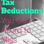 Blogger Tax Deductions You Can't Afford to Miss!