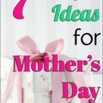Don't Go Broke Celebrating Mother's Day – 7 Frugal Ideas