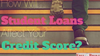 How will student loans affect your credit score?