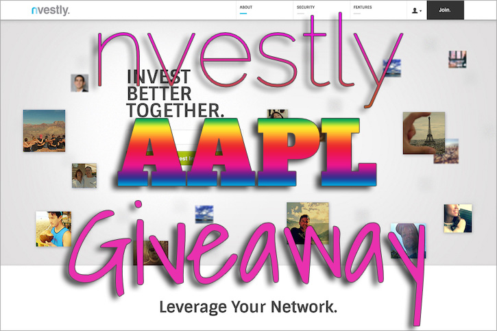 nvestly Apple Giveaway