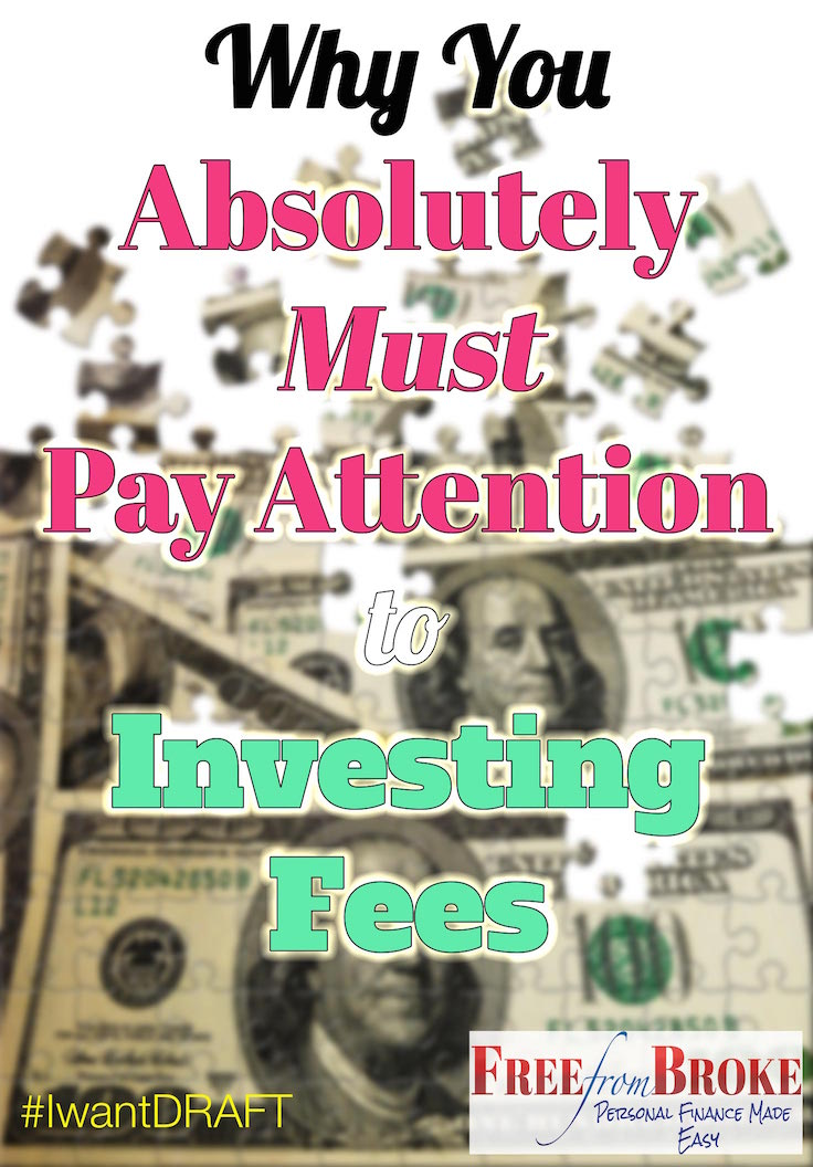 Why you absolutely must pay attention to investing fees!